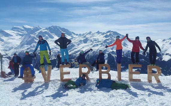 prof de ski Verbier